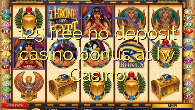 125 liberabo non deposit casino bonus ad Casino Iw