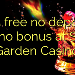 125 free no deposit casino bonus at Slots Garden Casino