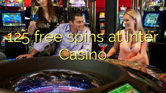 125 gratis spins på Inter Casino