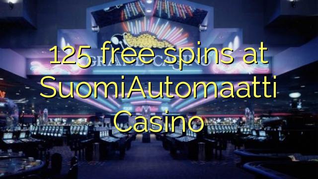 125 spins senza à SuomiAutomaatti Casino