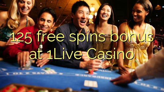 125 gratis spins bonus bij 1Live Casino