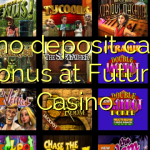 125 no deposit casino bonus at Futuriti Casino