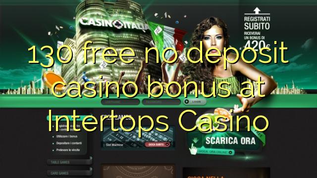intertops casino new no deposit bonus codes