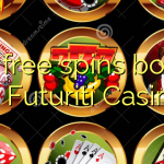 130 free spins bonus at Futuriti Casino
