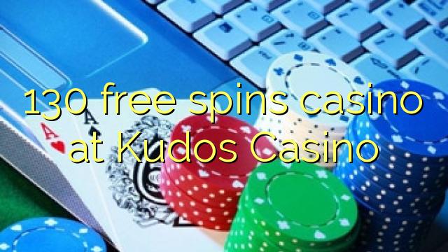 130 gratis spinnekop casino by Kudos Casino