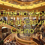 140 free no deposit bonus at Casumo Casino