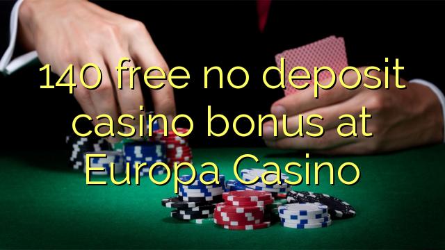 europa casino no deposit