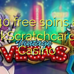 140 free spins at OkScratchcards Casino