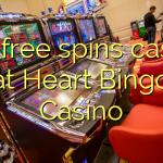 140 free spins casino at Heart Bingo Casino