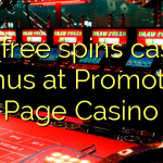 140 free spins casino bonus at Promotion Page Casino