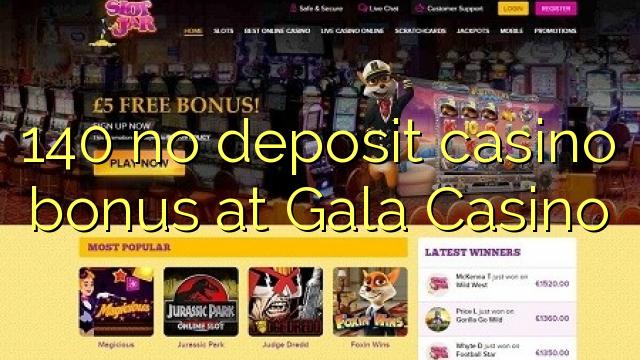 Gala casino no deposit bonus code 2018