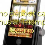 140 no deposit casino bonus at Triomphe Casino