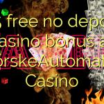145 free no deposit casino bonus at NorskeAutomater Casino