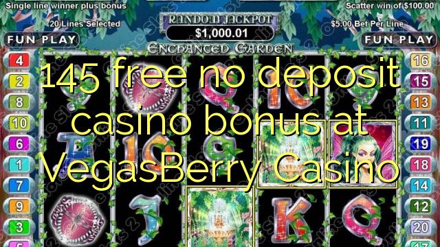 VegasBerry Casino heç bir depozit casino bonus pulsuz 145
