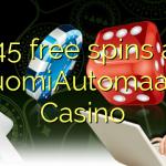 145 free spins at SuomiAutomaatti Casino