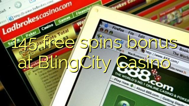 145 darmowych gier kasyno bonus BlingCity