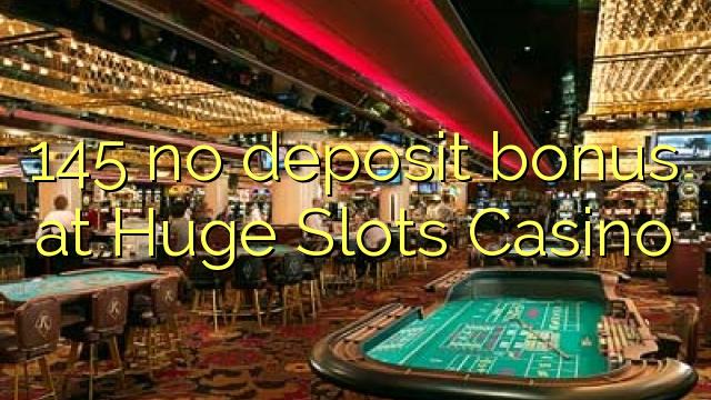 huge no deposit casino bonus