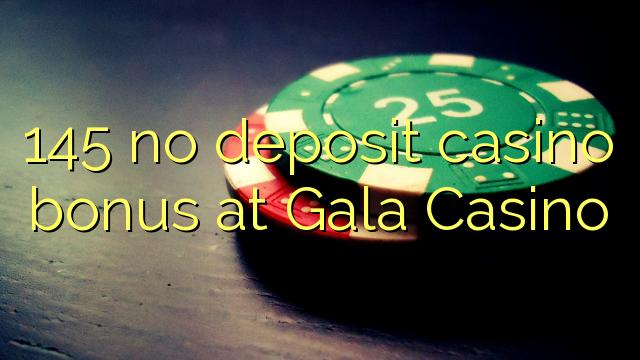 Gala ကာစီနိုမှာ 145 မျှသိုက်လောင်းကစားရုံဆုကြေးငွေ