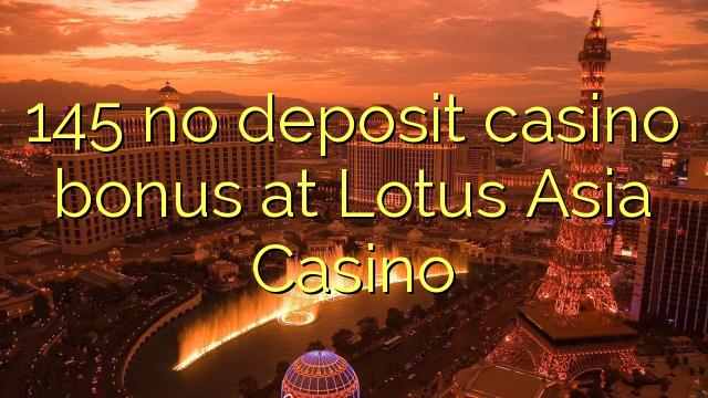 no deposit bonus lotus asia casino