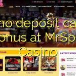 145 no deposit casino bonus at MrSpill Casino