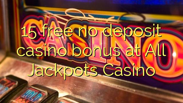 all jackpot casino no deposit bonus codes
