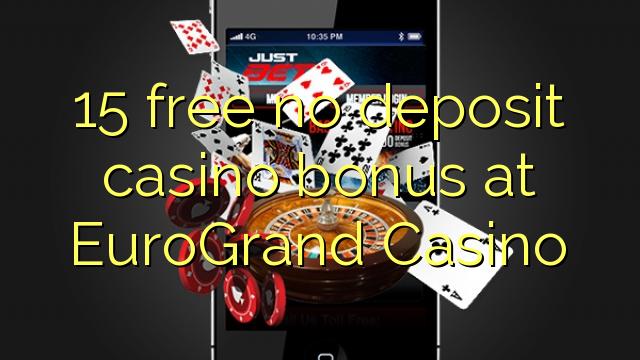 Eurogrand casino free slots