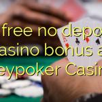 15 free no deposit casino bonus at Heypoker Casino
