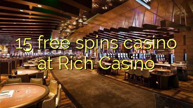 bonus code for rich casino