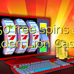 150 free spins at Golden Lion Casino