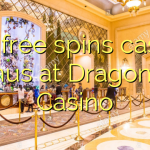 150 free spins casino bonus at Dragonara Casino