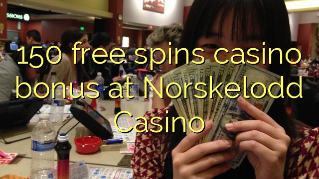 150 безплатни завъртания казино бонус при Norskelodd Казино