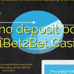 150 no deposit bonus at 1Bet2Bet Casino