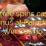 155 free spins casino bonus at Paradise Win Casino