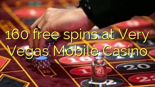 Çox Vegas Mobile Casino-da 160 pulsuz spins