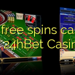 160 free spins casino at 24hBet Casino