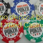 160 no deposit bonus at 7Red Casino