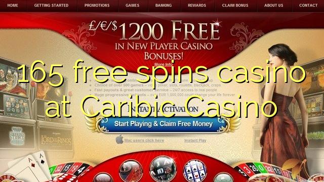 165 giros gratis de casino en casino Caribic