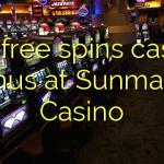 165 free spins casino bonus at Sunmaker Casino