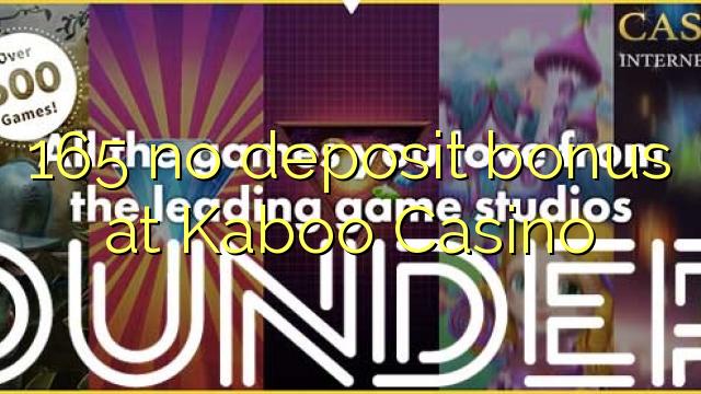 kaboo casino bonus code