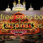 170 free spins bonus at Starspins Casino