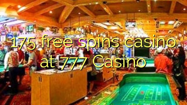 175 озод spins казино дар 777 Казино