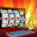 175 free spins casino bonus at Davincis Gold Casino