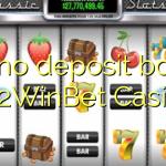 175 no deposit bonus at 2WinBet Casino