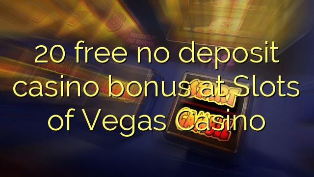 casino free 20 no deposit