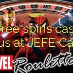 25 free spins casino bonus at JEFE Casino