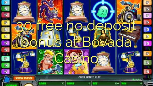 no deposit bonus for bovada casino