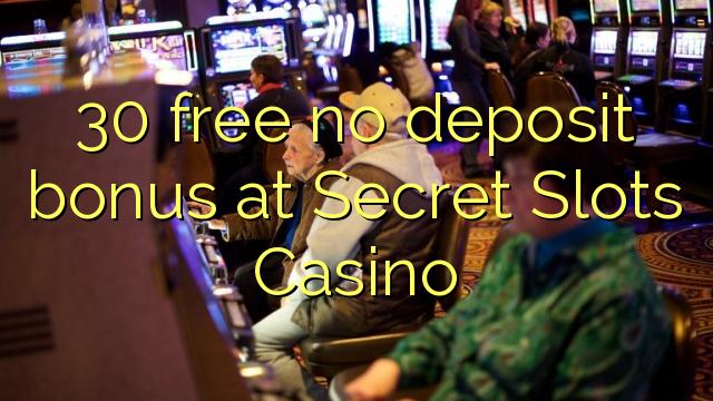 30 bez bonusu na vklad v kasinu sázkových automatů
