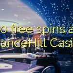 30 free spins at ChanceHill Casino