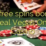 30 free spins bonus at Real Vegas Online Casino