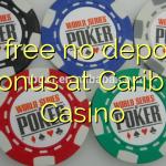 35 free no deposit bonus at Caribic Casino